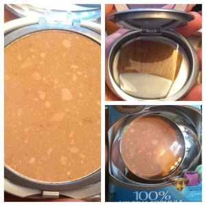 Bronzer  in Peachy Glow.