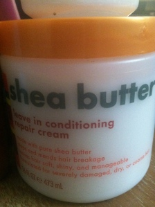 Shea Butter Leave In Conditioner